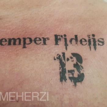 Opus Magnum Tattoo Wien Semper Fidelis 13 lines fani sofian meherzi filigran filigree lining black cheyenne tatouage τατουά ζ タトゥー 黥
