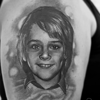 Maui Meherzi - Opus Magnum Tattoo Studio Wien - RIP