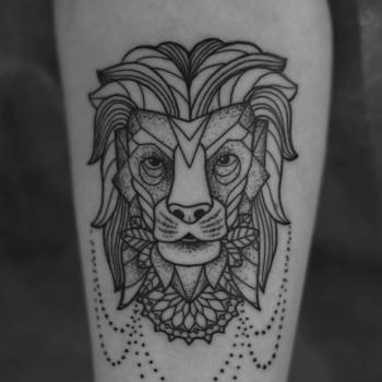 opus magnum sofian meherzi fani tattoo geometric geometrie dotwork black mandala lion löwe  lines fani sofian meherzi filigran filigree lining black cheyenne tatouage τατουά ζ タトゥー 黥