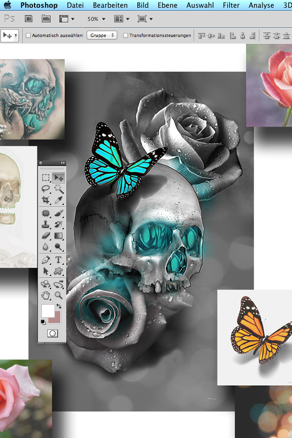 Tattoo Photoshop Kurs Wien Maui Meherzi Opus Magnum Tattoostudio