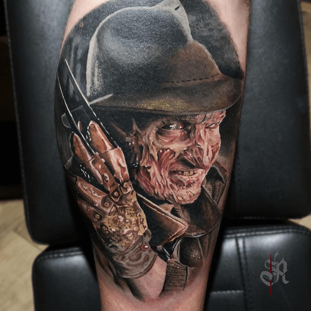 Robi Vienna Tattoo Realistic  Opusmagnum Freddykrueger