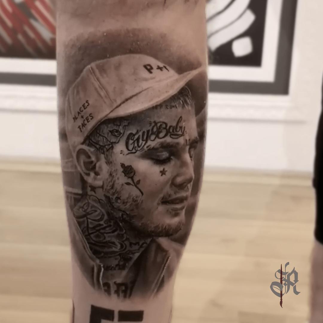 Robi Vienna Tattoo Realistic  Opusmagnum Portrait