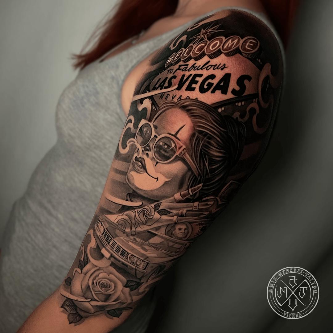 aminmeherzi realistic tattoo black and grey realism lasvegas tattoo portrait opusmagnum vienna