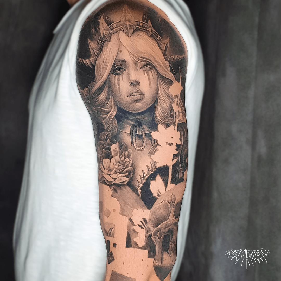 fanimeherzi opusmagnum wien vienna tattoo black and grey realism